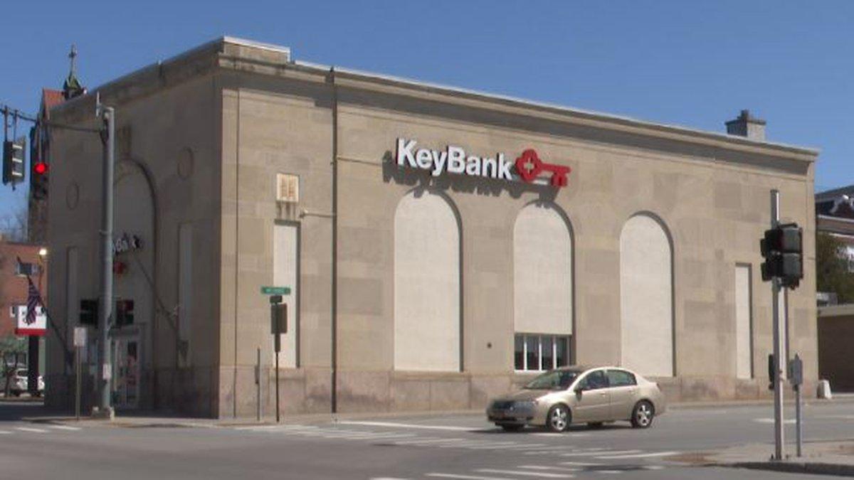 KeyBank branch in Carthage