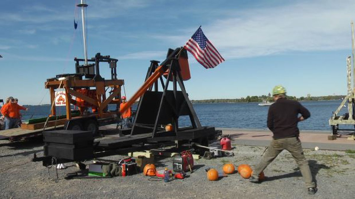Clayton is getting ready for one of its biggest events of the year, Punkin Chunkin.