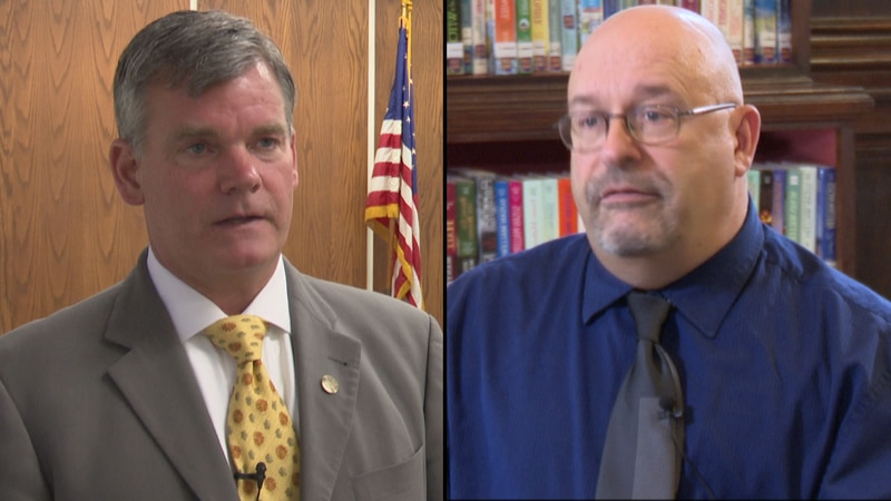 Watertown's mayor is adamantly denying an assertation made by a city council candidate on a...