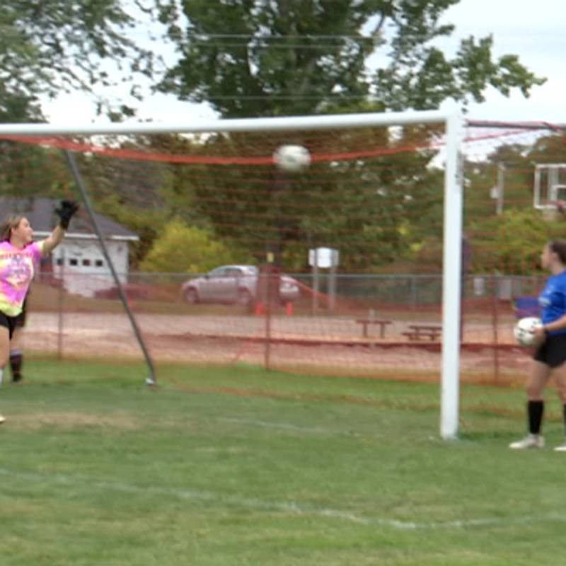 The Lyme girls' soccer team is putting together an impressive season so far.