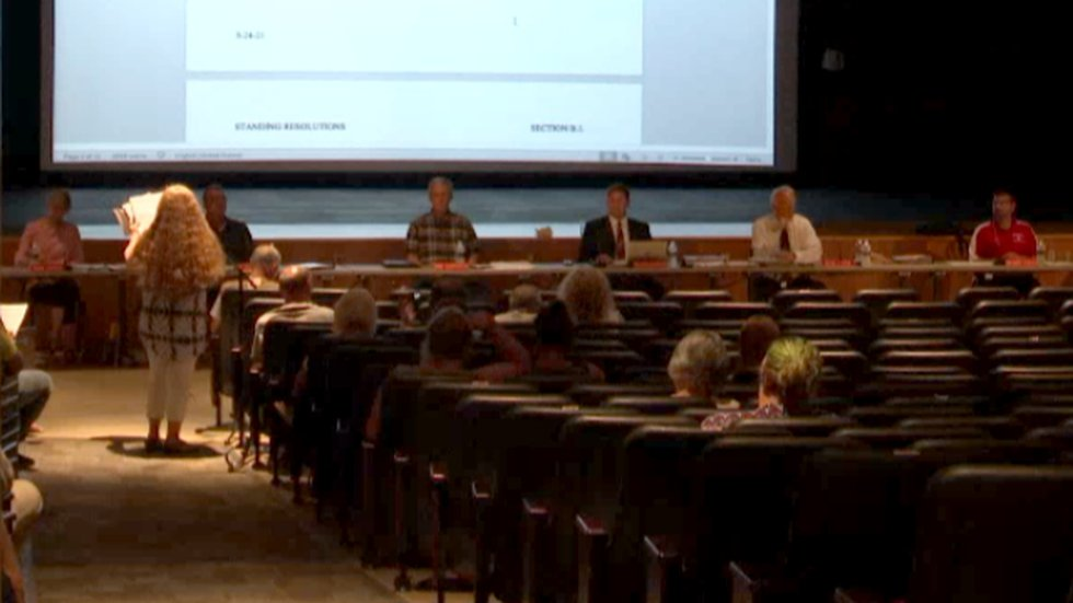 Many in the South Lewis Central School District are up in arms over the possibility of a mask...
