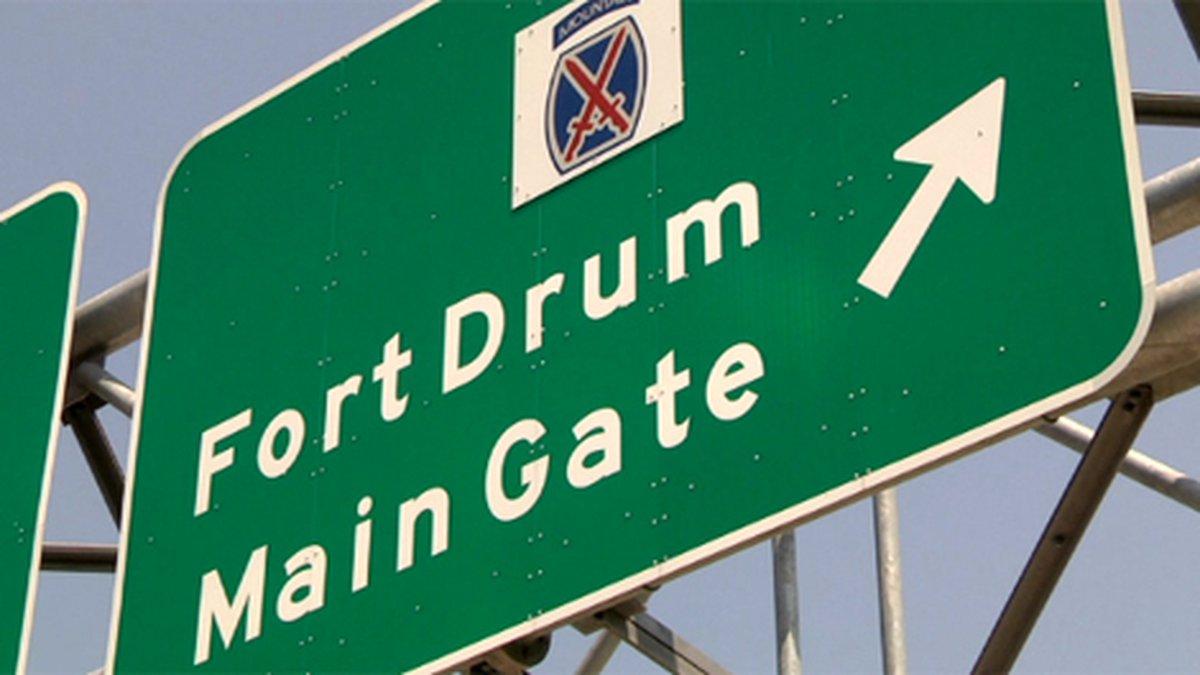 Fort Drum sign