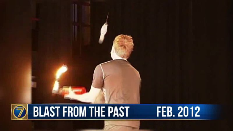 WWNY Blast from the Past: 2012 juggling act