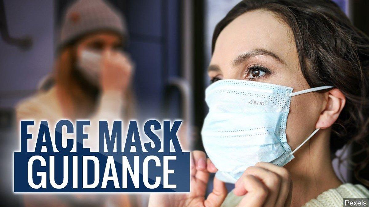 Face mask guidance