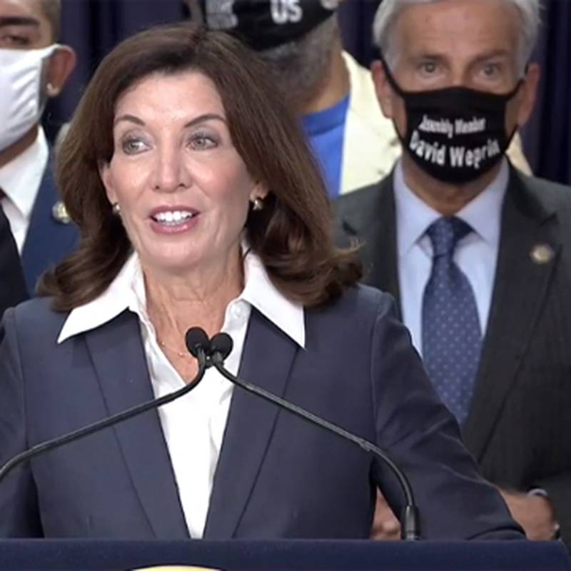 Gov. Kathy Hochul signed a law Friday that allows people to avoid jail time for most nonviolent...