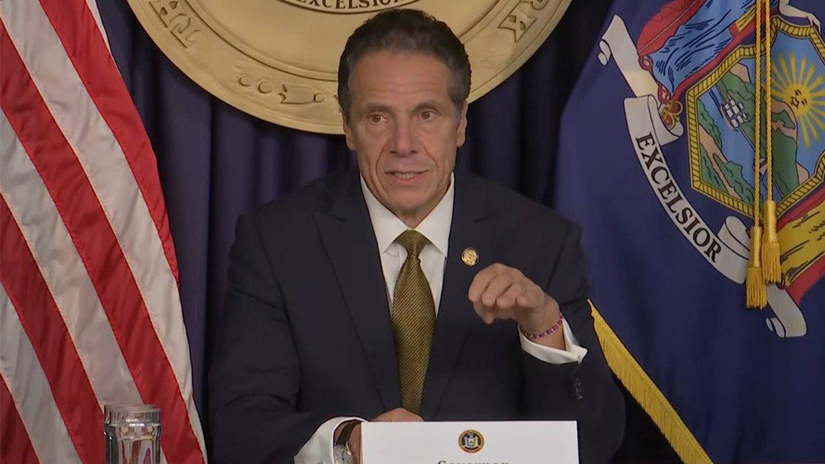 New York Gov. Andrew Cuomo announced Monday that schools in coronavirus hotspots will be closed.