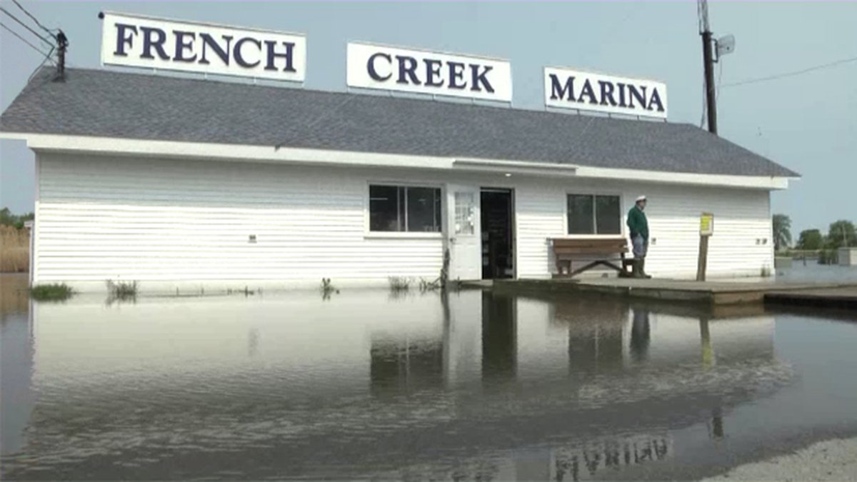 The French Creek Marina in Clayton was one of dozens of north country businesses to receive...