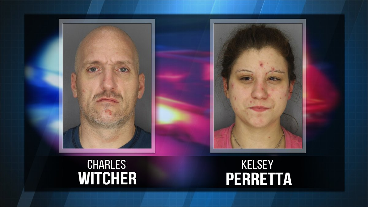Charles Whitcher and Kelsey Perretta