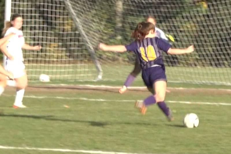 Hammond visited Heuvelton Wednesday for a girls' Section X Class D soccer quarterfinal.