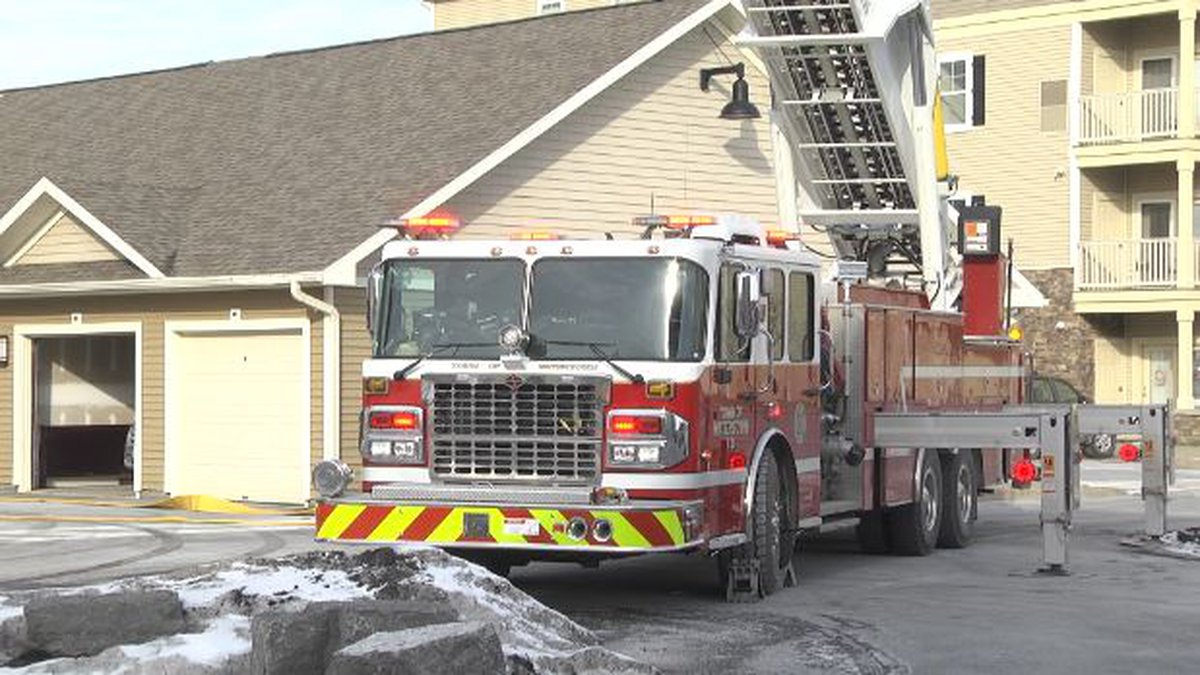 A town of Watertown apartment building was evacuated for a time Thursday after parts of it...