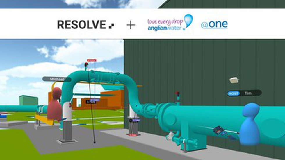 Resolve Partners with Anglian Water @one Alliance to Improve Operations Access to 3D Assets...