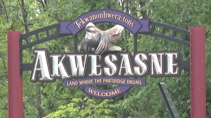 Akwesasne sign