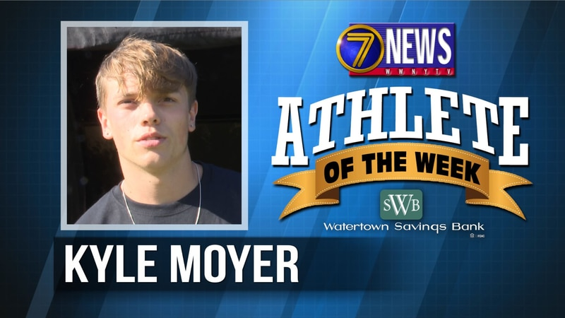 Kyle is the 7 News - Watertown Savings Bank North Country Athlete of the Week for September 17,...