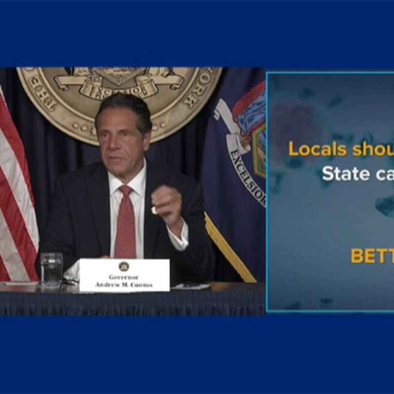 Gov. Andrew Cuomo on Monday urged local governments, schools, and hospitals to require...
