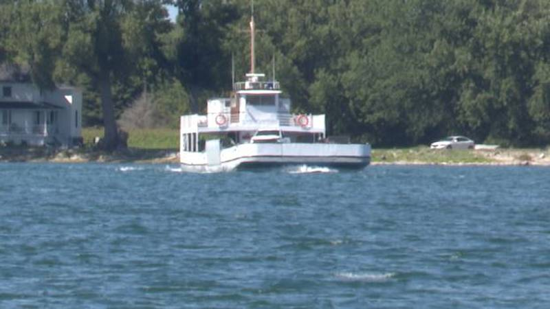 Anchored for nearly two years, Horne's Ferry is back up and running.