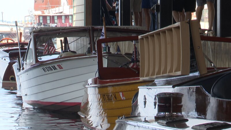 Large crowds gathered in the McNally Yacht House on Saturday, flocking from all over to get a...