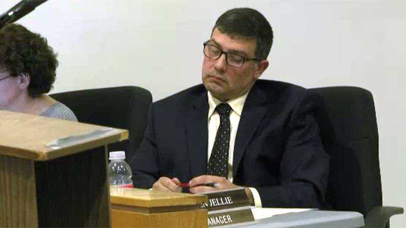 Stephen Jellie was hired as Ogdensburg's city manager in a narrow vote Monday night.