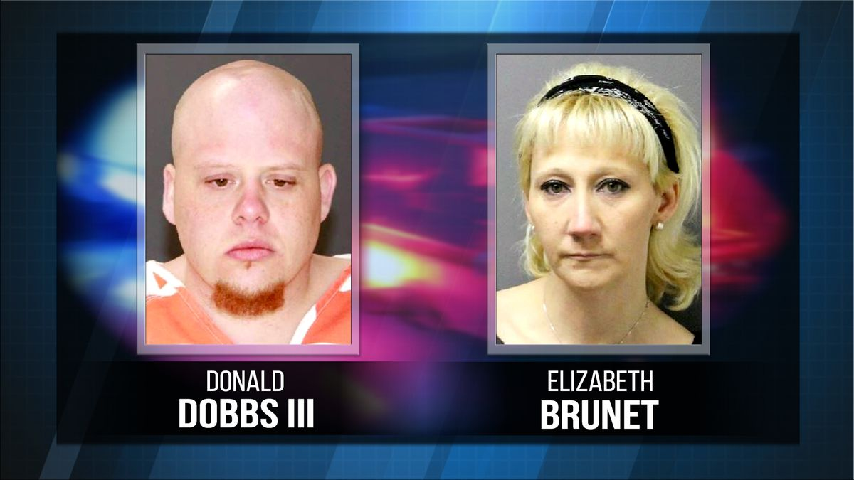 Donald Dobbs III and Elizabeth Brunet face meth-making and drug possession charges following a...