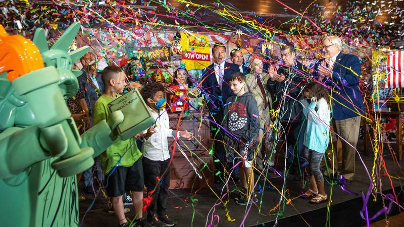 Legoland Resort is now officially open in New York!