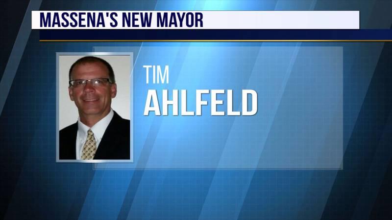 Tim Ahlfeld, Massena's new mayor.