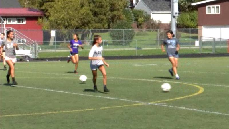 The Watertown girls' soccer team captured the Frontier League A Division regular season title....