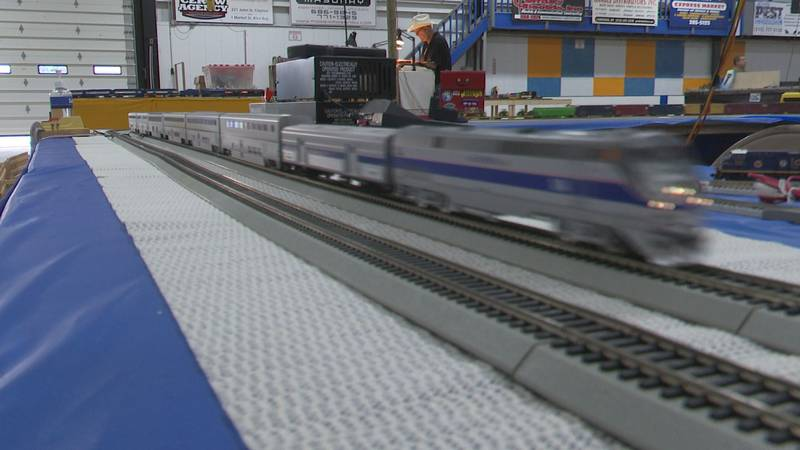 Cerow Arena in Clayton played host to the Thousand Islands Train Fair