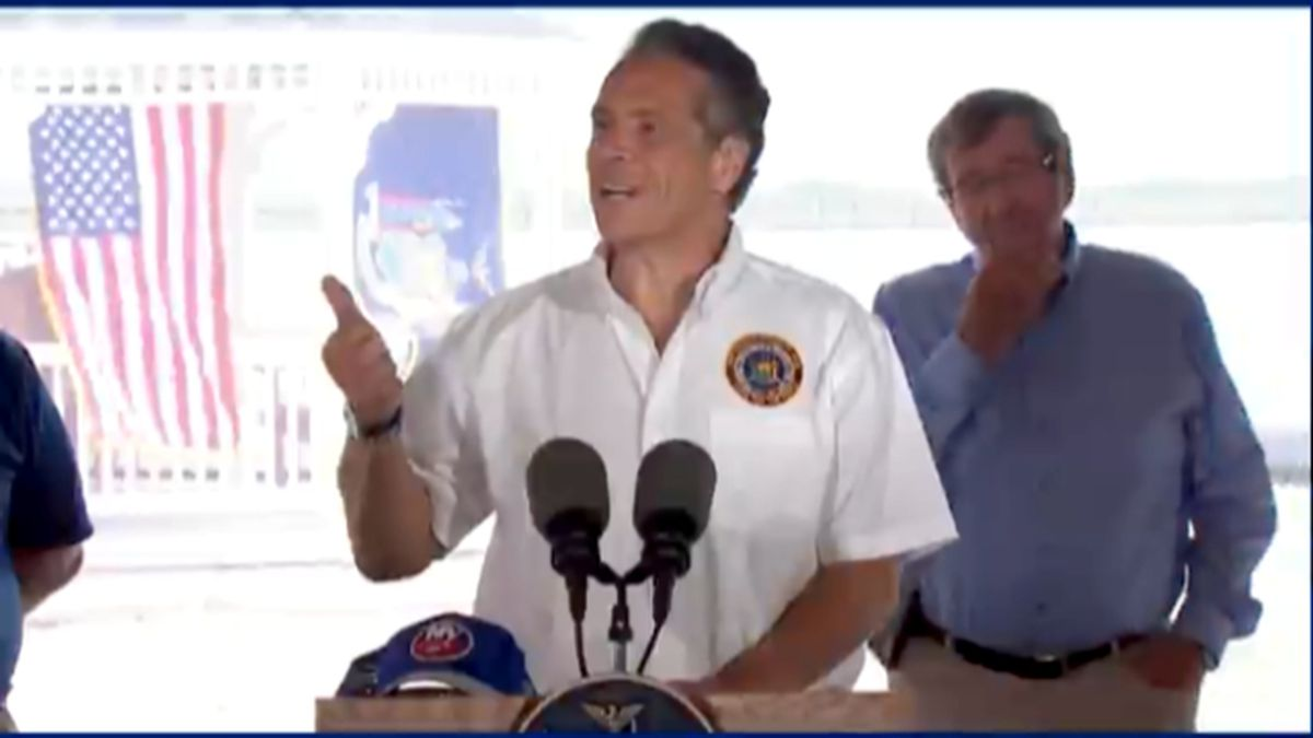 """Gov. Andrew Cuomo on Monday announced """"A Shot in the Park,"""" a new incentive to get people..."""