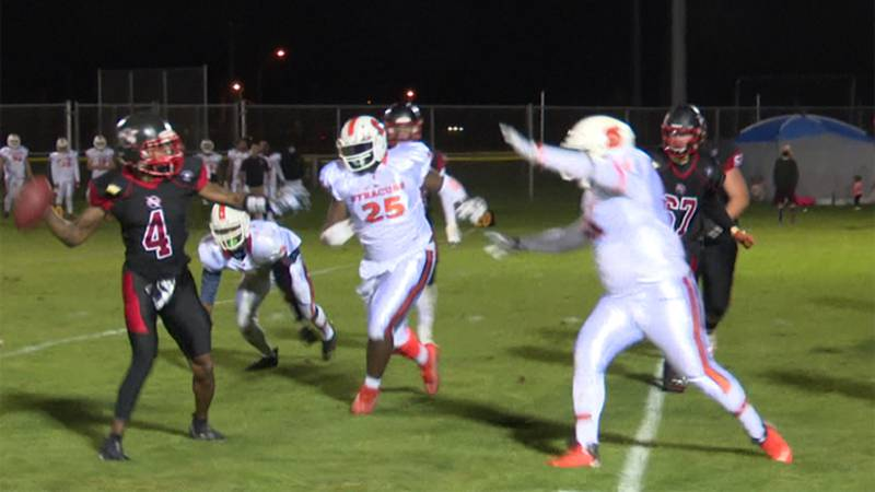 The Watertown Red & Black hope for a repeat performance when they meet Syracuse in an EFL...