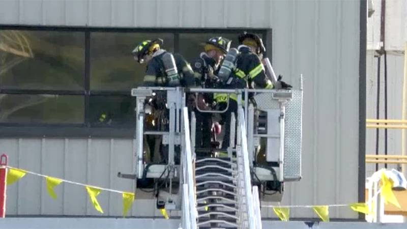 A malfunctioning air conditioning unit sparked a blaze at the Kraft Heinz plant in Lowville...