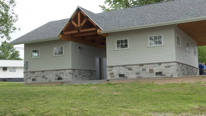 A new pavilion is just the start of water front projects in Cape Vincent.