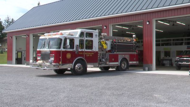 After two years and $930,000, the Castorland Fire Company has a new home.