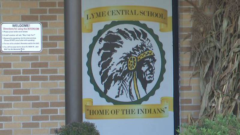 Lyme Central School's mascot and nickname is 'the Indians'