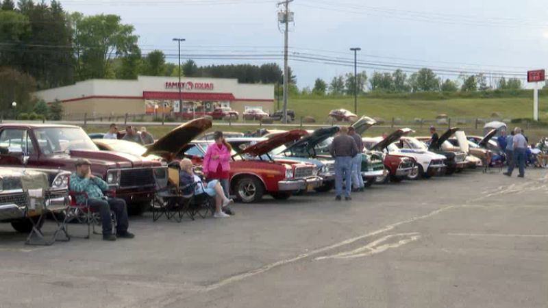 Dozens of classic and vintage rides showed up Wednesday for the Memory Lanes Cruise-In in West...