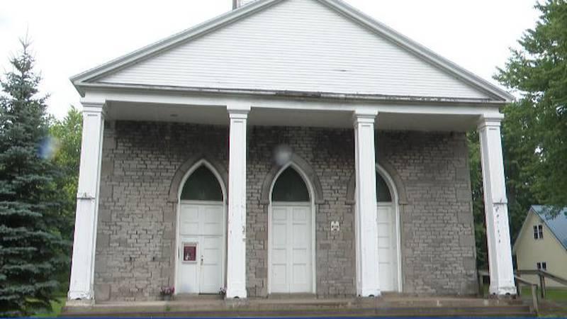 The Old Stone Chapel in Sackets Harbor