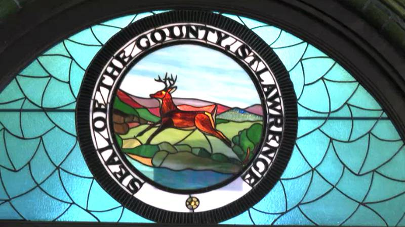 St. Lawrence County's seal