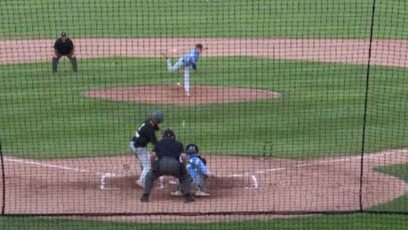 It was the Watertown Rapids vs. the Mohawk Valley DiamondDawgs at the Alex Duffy Fairgrounds...