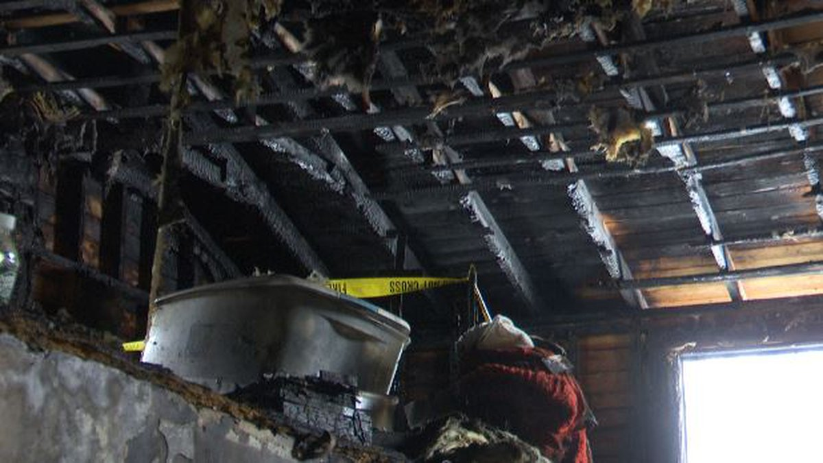 A town of Ellisburg family lost just about everything they own when their home caught fire...