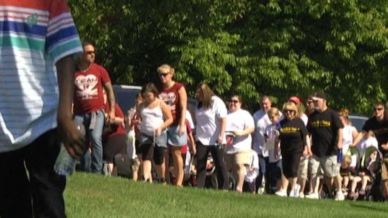 File photo of Out of the Darkness Walk
