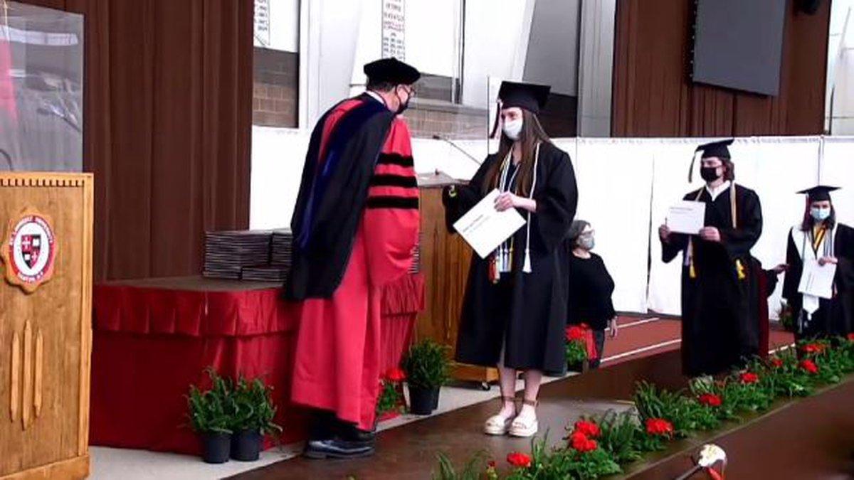 St. Lawrence University graduation