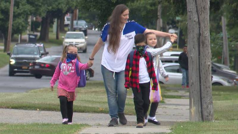 Some St. Lawrence Schools County schools are among the first to open their doors. In-person...