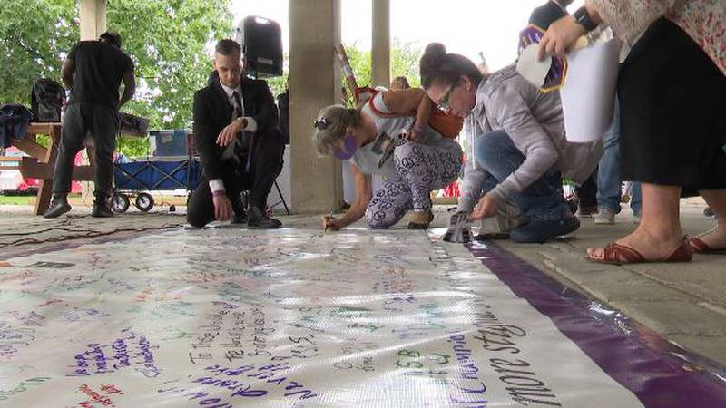 Overdose Awareness Day was observed in Watertown