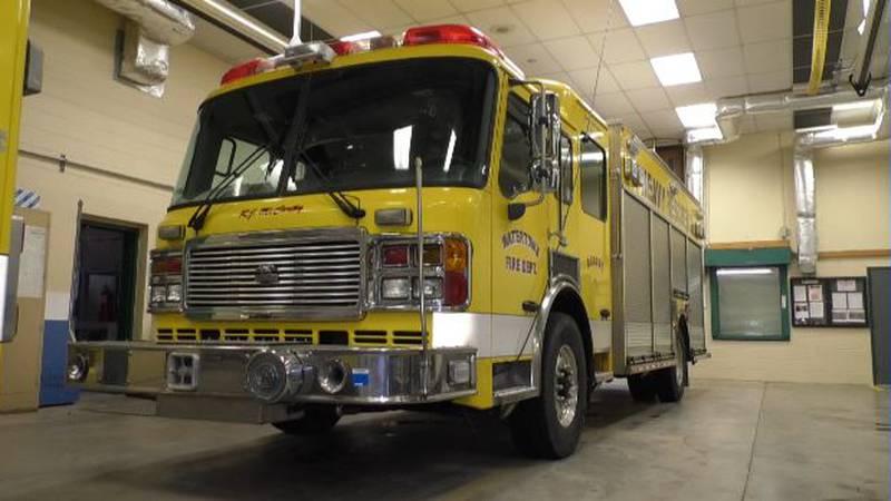 Watertown's heavy rescue fire truck
