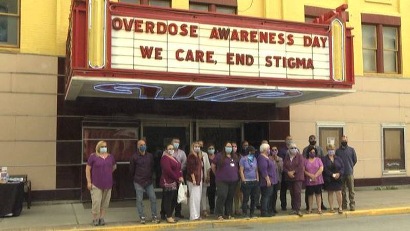 International Overdose Awareness Day observed at the Town Hall Theater in Lowville