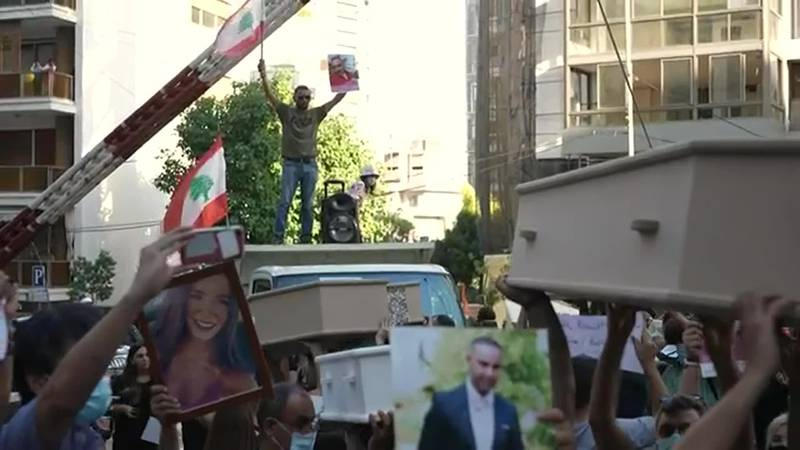 A year after the Beirut blast, survivors are still grieving, still angry, and still waiting for...
