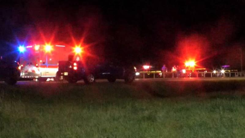 A pedestrian was struck by a pickup truck near Walmart in the town of LeRay Tuesday night. The...