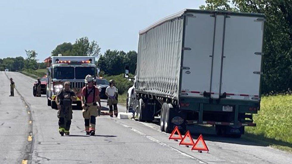 Crash on Route 12 in the town of Rutland