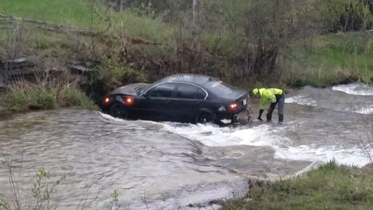 State police are looking for a driver who led them on a high-speed chase before abandoning the...