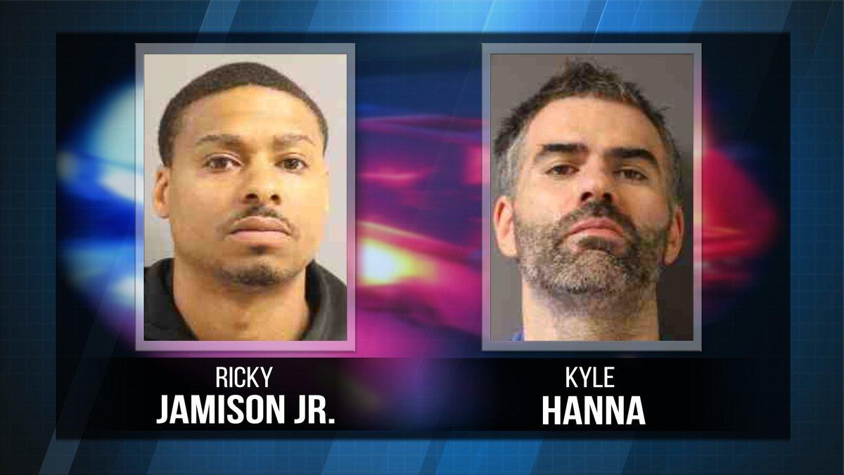 Ricky Jamison Jr. and Kyle Hanna