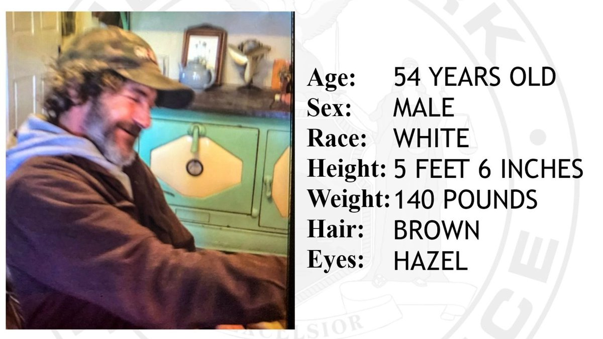 State Police are looking for 54 year old Charles Audibert, who was last seen in the town of...