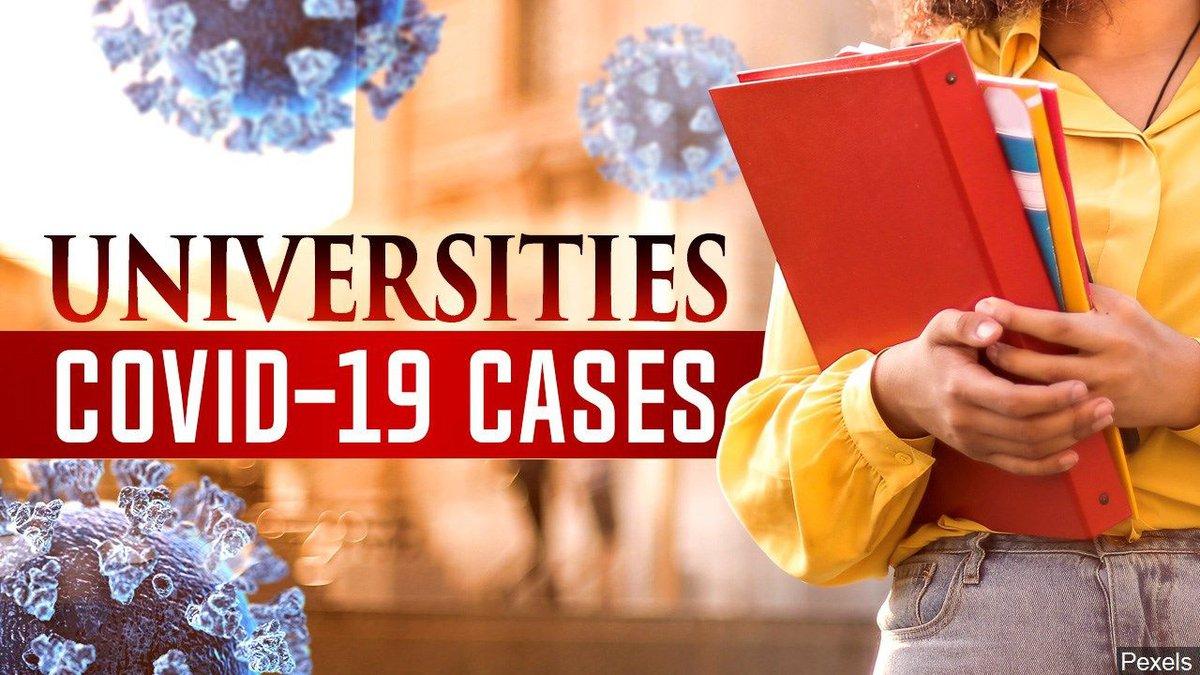 Universities Covid-19 cases